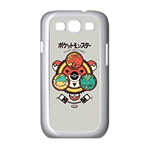 Samsung Galaxy S3 9300 Cell Phone Case White Pocket Monster Trainer Personalized DIY Case ATY