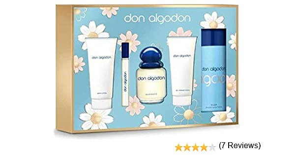 DON ALGODÓN Colonia 100Vapo+Gel75+Body 75+Vial10+Deo150(EST).: Amazon.es: Hogar