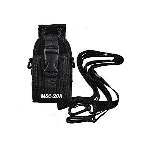 - QJang Multi-Function Universal Fabric Pouch Holster Holder Case for Two Way Radio Walkie Talkie Kenwood Baofeng Motorola Midland ICOM Yaesu (MSC-20A)