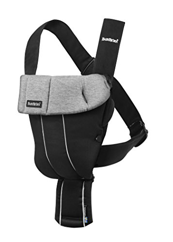 Why Choose BABYBJÖRN Baby Carrier Original - Black/Granite, Jersey Cotton