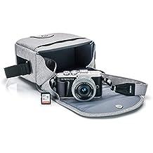 Olympus PEN E-PL9 kit with 14-42mm EZ Lens, Camera Bag, and Memory Card, Onyx Black