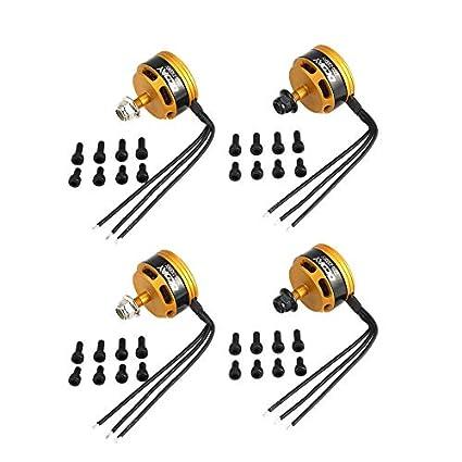 ARSUTE OCDAY 2205 2300KV 3-4S CW/CCW Motor sin escobillas para ...