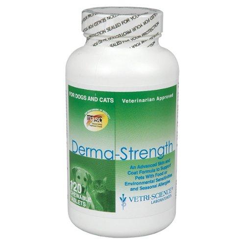 Vetri-Science Derma-Strength, 120 Tablets, My Pet Supplies