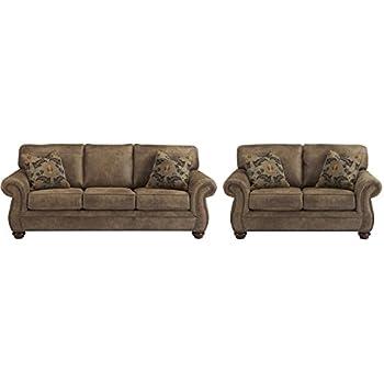 6e50b0771260ed Signature Design by Ashley Larkinhurst Living Room Set with Sofa and  Loveseat