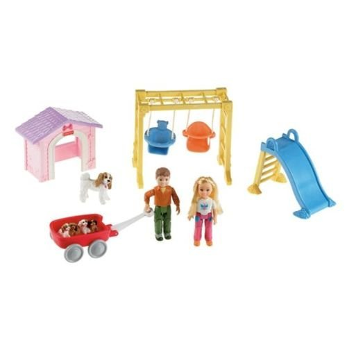 Fisher Price Loving Family Outdoor Fun Playset