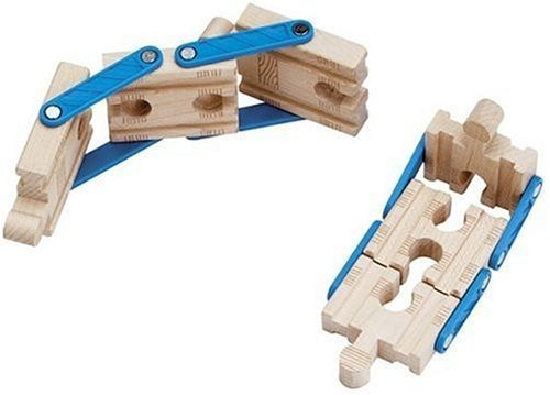 Adapt a Track (2 Pieces) - Thomas & Friends Wooden Train Tank Engine - Brand New Loose (Thomas The Train Wooden Murdoch)
