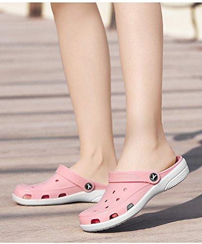 de playa Rosado zapatos RESPEEDIME Wading zapatillas Zapatillas agujeros verano agua sandalias mujer RTqAg5qw