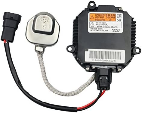 HID Ballast with Ignitor - Headlight Control Unit - Replaces 28474-8991A,  28474-89904, 28474-89907, NZMNS111LANA - Fits Nissan Murano, Maxima,  Altima,