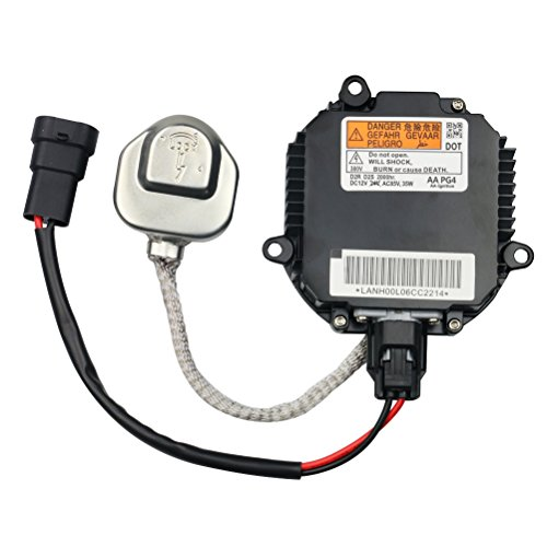 HID Ballast with Ignitor - Headlight Control Unit - Replaces 28474-8991A, 28474-89904, 28474-89907, NZMNS111LANA - Fits Nissan Murano, Maxima, Altima, 350Z, Infiniti QX56, G35, FX35 - Xenon Ballast - Factory Replacement Ignition Control