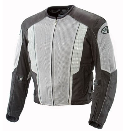 Joe Rocket Phoenix 5.0 Mesh Motorcycle Jacket Grey/Black