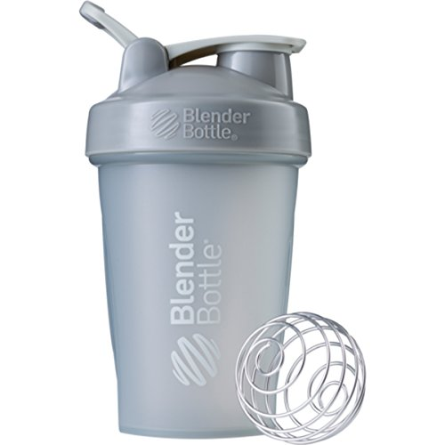 Blender Bottle Classic 20 oz. Shaker with Loop Top - Pebble Gray