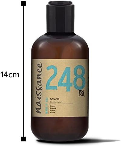 Naissance Sésamo - Aceite Vegetal Prensado en Frío 100% Puro - 250ml: Amazon.es: Salud y cuidado personal