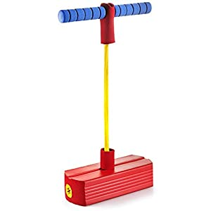 Foam Pogo Jumper For Kids - Fun And Safe Jumping Stick - Pogo Stick For Kids And Adults - Pogo Jump Makes Squeaky Sounds - Holds Up To 250 LBS - Great Gift For Boys And Girls - Original - By Play22