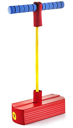 Play22 Foam Pogo Jumper for Kids - Fun and Safe Jumping Stick - Pogo Stick for Kids and Adults - Pogo Jump Makes Squeaky Sounds - Holds Up to 250 -
