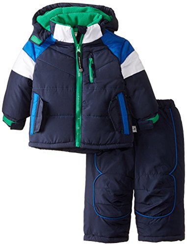 Rothschild Baby Boys' Flap Pocket Snowsuit, Navy, 12 Months (Joker Suit For Sale)