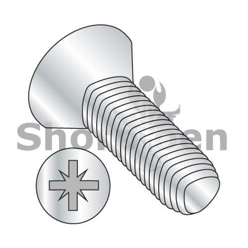 SHORPIOEN Din 7500 M Metric Type Z Flat Thread Rolling Screw Zinc Bake Wax M3-0.5 x 5 BC-M35D7500M (Box of 5000)