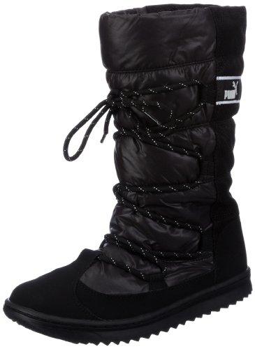 Puma Snow Nylon Boot Wn's 354349, Damen Snowboots, Schwarz (black 01), EU 40.5 (UK 7) (US 9.5)
