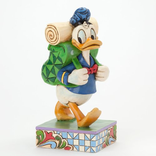 Jim Shore Disney Traditions Donald Duck Hiking Figurine -- Part of the Great Outdoors - Jim Donald Duck Shore
