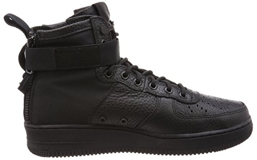 Nike Sf Af1 Mid Mens Fashion-sneakers 917753-005_8.5 - Nero / Nero-nero