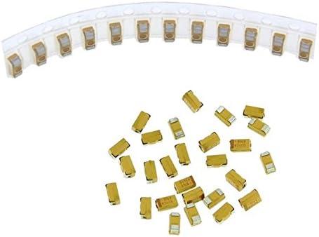 50x Tantal Kondensator SMD A 0,1µF 35V 125°C 3,2x1,6mm AVX TAJA104K035R 0,1uF