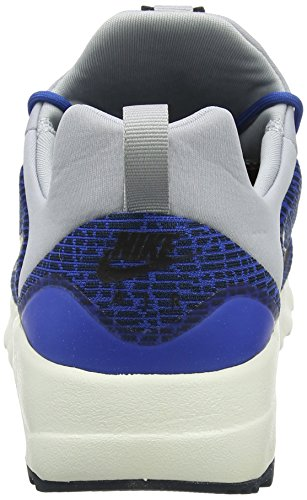 Nike Air Max Motion Racer, Baskets Homme, Bleu (Blue Jay/Black-Armory Navy-Wolf Grey-Sail), 40 EU