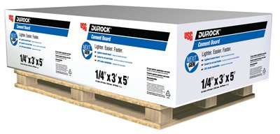 US Gypsum 170219-RDC06 0.25 x 3 x 5 in. Cement Board44; Pack of 60