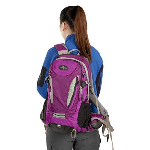 ed5dee60d7448 AMOS Outdoor Bergsteigen Tasche Schulter Frauen Männer gehen Rucksack große  Kapazität tragen 30L