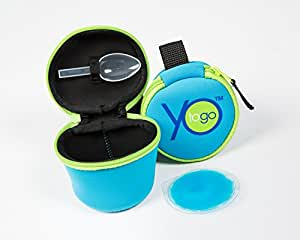 YoToGo - Yogurt Cooler / lunch box, (Blue)- Perfect for maintaining a healthy diet
