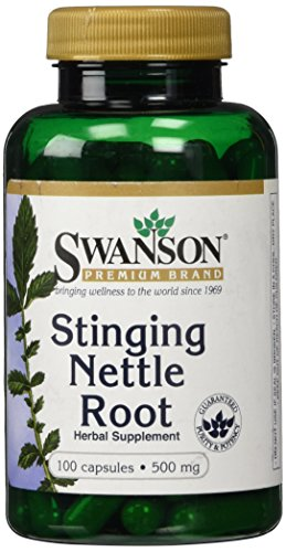 Stinging Nettle Root 500 mg 100 Caps
