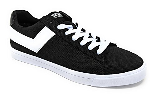 Pony Top Star Low Core CVS Mens Canvas Lace Up Sneakers Black/White 9 M xlCgGNQy