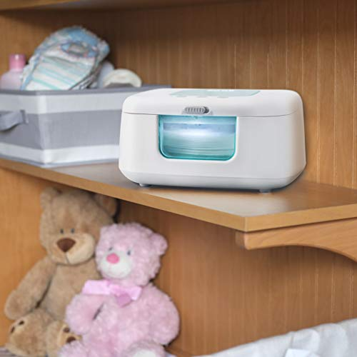 41qoot6jR8L - Baby Wipe Warmer & Dispenser With LED Changing Light & On/Off Switch - Jool Baby