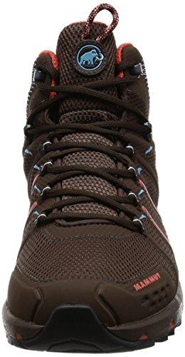 Mammut Damen Trailrunning-Schuh T Aenergy Mid GTX® coffee-dark barberry