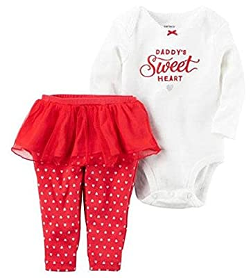 Carter's Baby Girls' Daddy's Sweet Heart 2 Piece Set by CARTERS that we recomend individually.