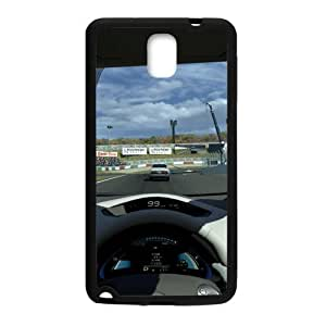 Racing Racer Final Sprint Win Samsung Galaxy note 3 Case Cover (Laser Technology)