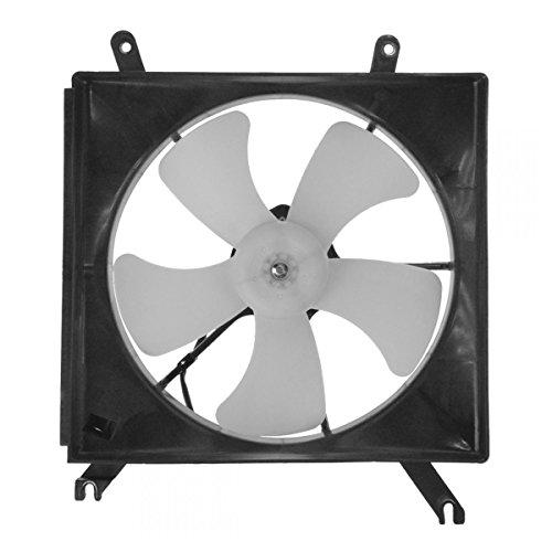Radiator Cooling Fan & Motor Assembly for 90-93 Honda Accord (Motor Fan Radiator Side Cooling)