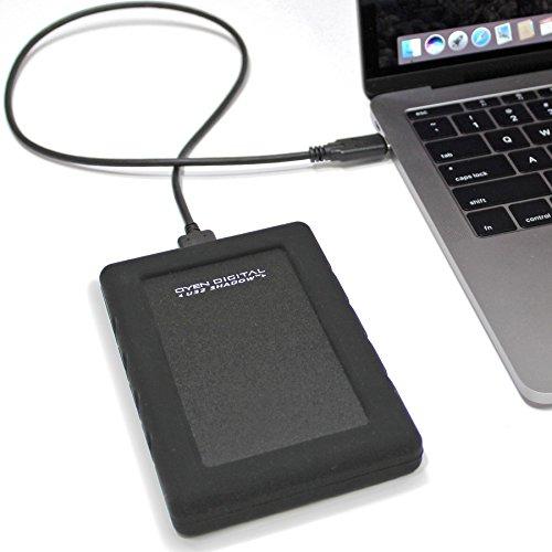 U32 Shadow Dura 4TB USB-C (3.1 Gen 2) Rugged Portable Solid State Drive SSD by Oyen Digital (Image #3)
