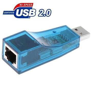 Amazon.com: Storite ~ USB 2.0 a LAN Adaptador de tarjeta de ...
