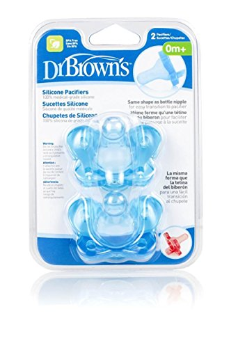 dr-brown-pacifier-silc-0-size-1ct-dr-brown-pacifier-all-silicone-0-6-mos-stage-1-1ctblue