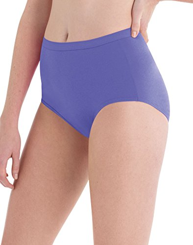 Hanes Womens Cotton Briefs - Hanes Women's 6 Pack Cotton Brief (Bonus +2), Assorted, 9