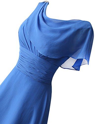 honor Corto Lentejuelas de Vestidos Vestidos Rosario Prom Formal Gorra de fiesta Fucsia HUINI Mangas Dama qPHB5wII