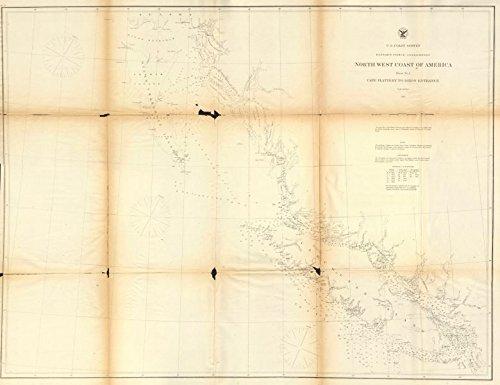 British Columbia CoastVancouver Island.Queen Charlotte Islands.Uscgs on