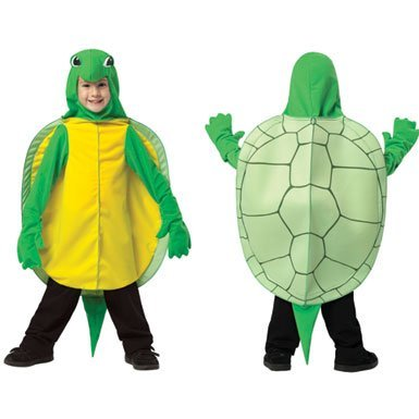 Rasta Imposta Turtle, Green/Brown, 3-4T