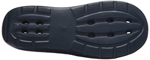 Skechers Sport Mens Drains Slide Sandal, Navy