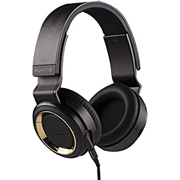 Munitio PRO40 High-Performance Headphones, Gold