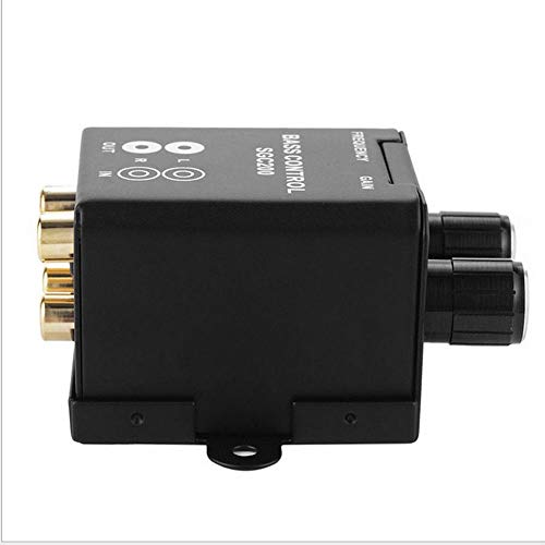 Regulator Active Soft Subwoofer Level Volume Control RCA Speaker Amplifier hot