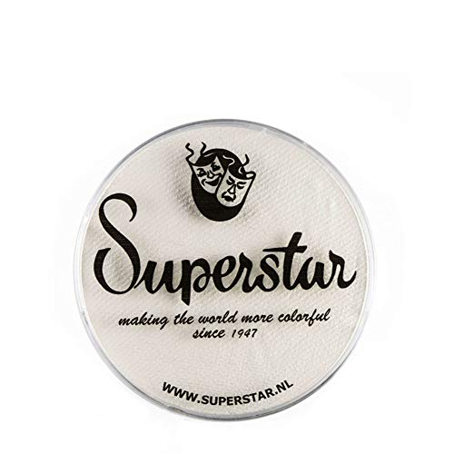 Superstar Face Paint - Skull White 022, Hypoallergenic,