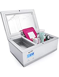 Mini Fridge, Housmile Electric Cooler Personal Refrigerator Thermoelectric System Cosmetic Cooler for Eye Cream, Facial Mask, Skin Cream, Eyeliner, Organic Cosmetics, 3 Liter / 0.1 Cubic Feet