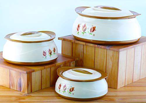 Bms Lifestyle Goodday Belleza Insulated Hot Pot Casserole Gift Set, 3 Pcs