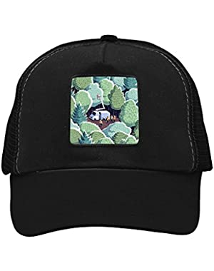Unisex Forest and People Adjustable Classic Hiphop Hat Baseball Cap Snapback Dad Hat