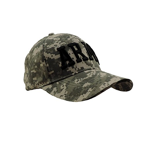 Deluxe ACU Digital Camo Low Profile ARMY Embroidered Adjustable Ball Cap (Profile Camouflage Cap)